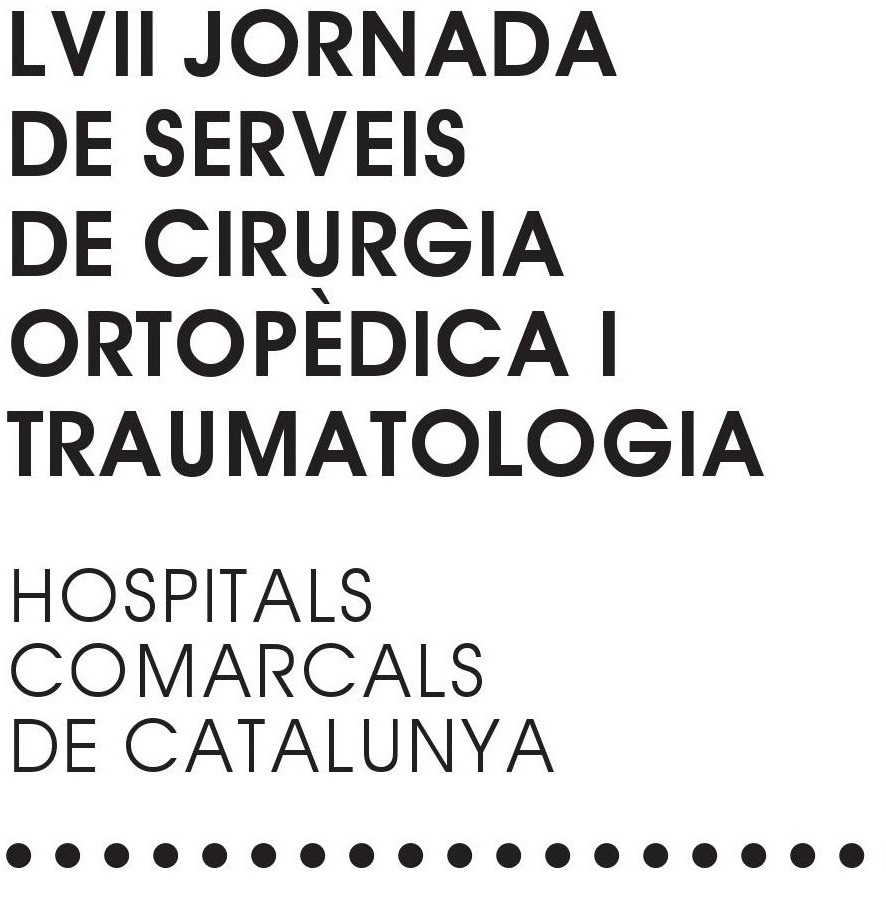 LVII Jornada Cirurgia Ortopèdica i Traumatologia FHSJDM 251019