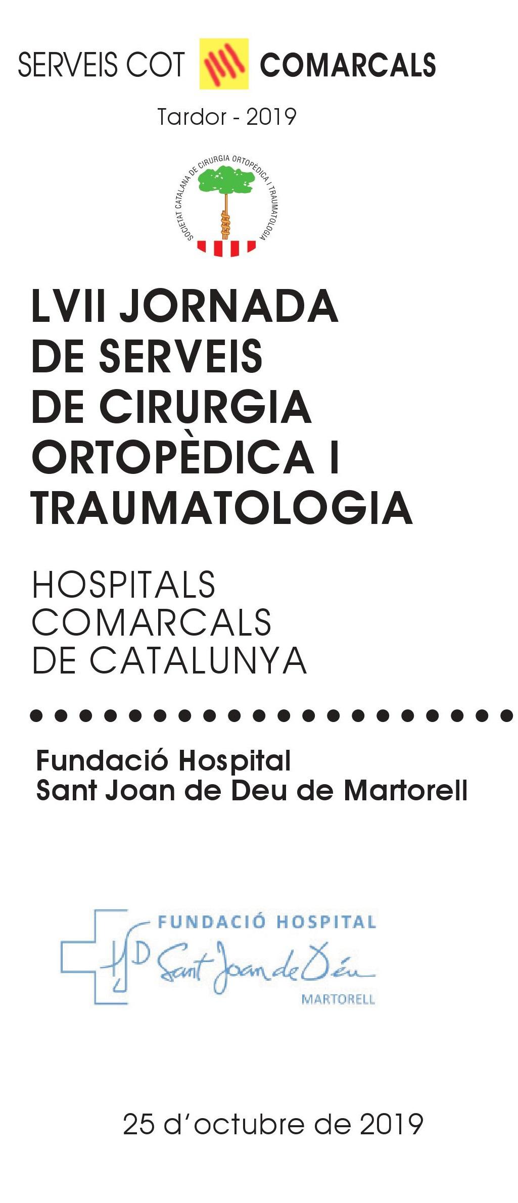 Jornada de serveis de cirugia ortopèdica i traumatologia