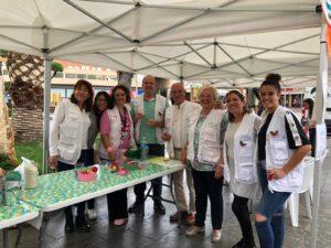 Voluntaris FHSJDM Inauguració Setmana Lactància 2019