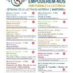 Setmana Lactància Materna FHSJDM 2019 Martorell