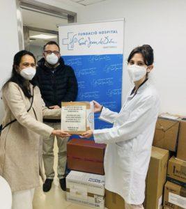 Donació excedents fàrmacs COVID-19 Hospitals comarcals Catalunya FHSJDM