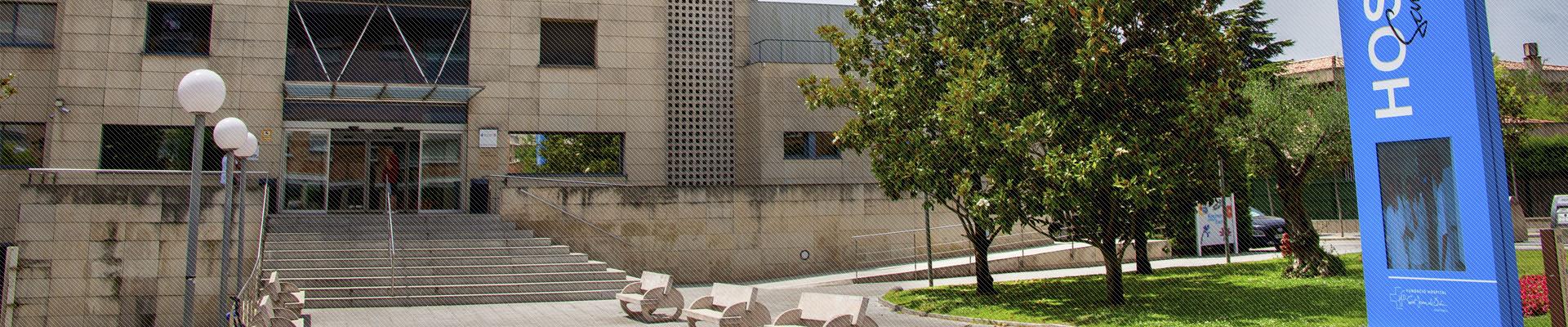 Foto façana principal de l'Hospital de Martorell