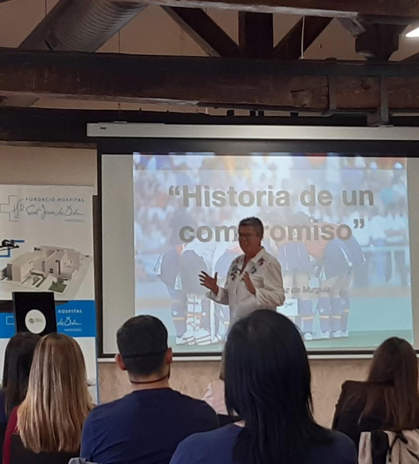 Història d'un compromís Maribel Martínez FHSJDM