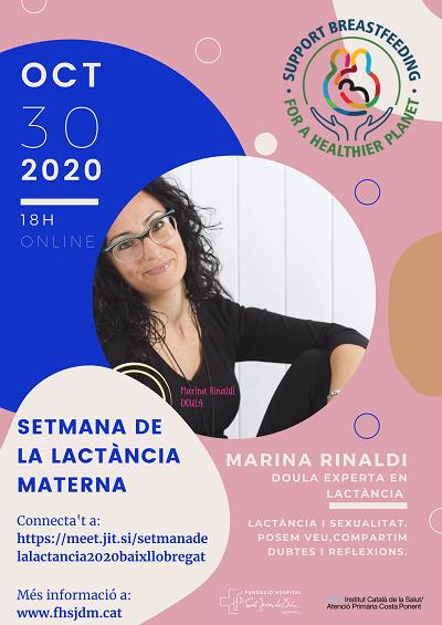 SETMANA LACTÀNCIA MATERNA 2020 FHSJDM