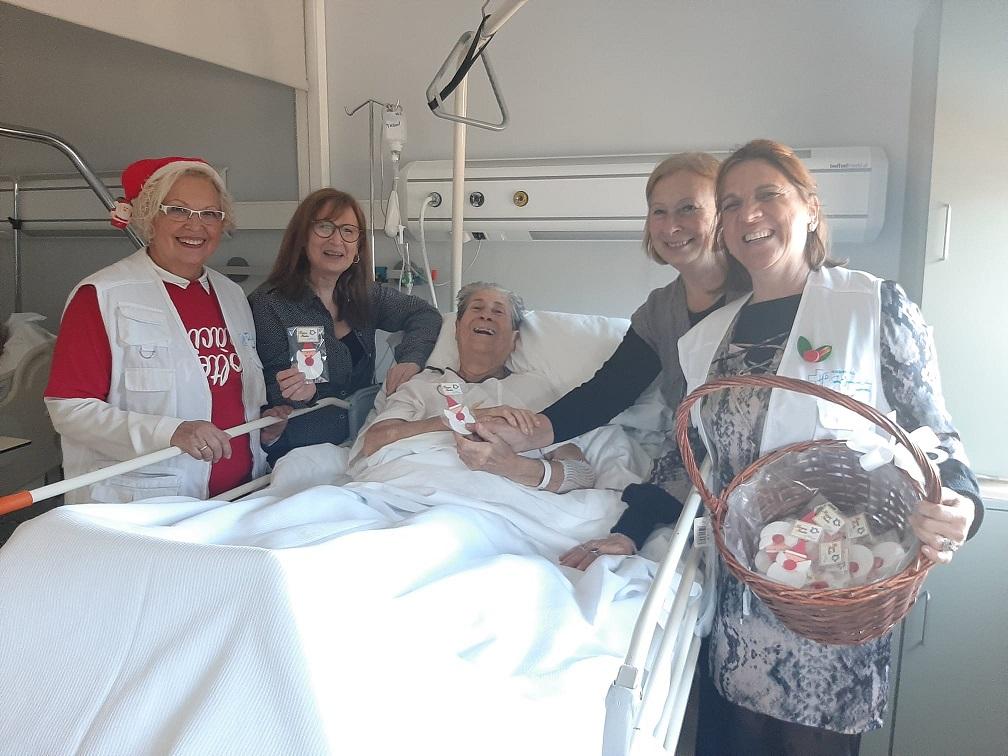 Obsequi a pacients familiars i professionasl FHSJDM Nadal 2019