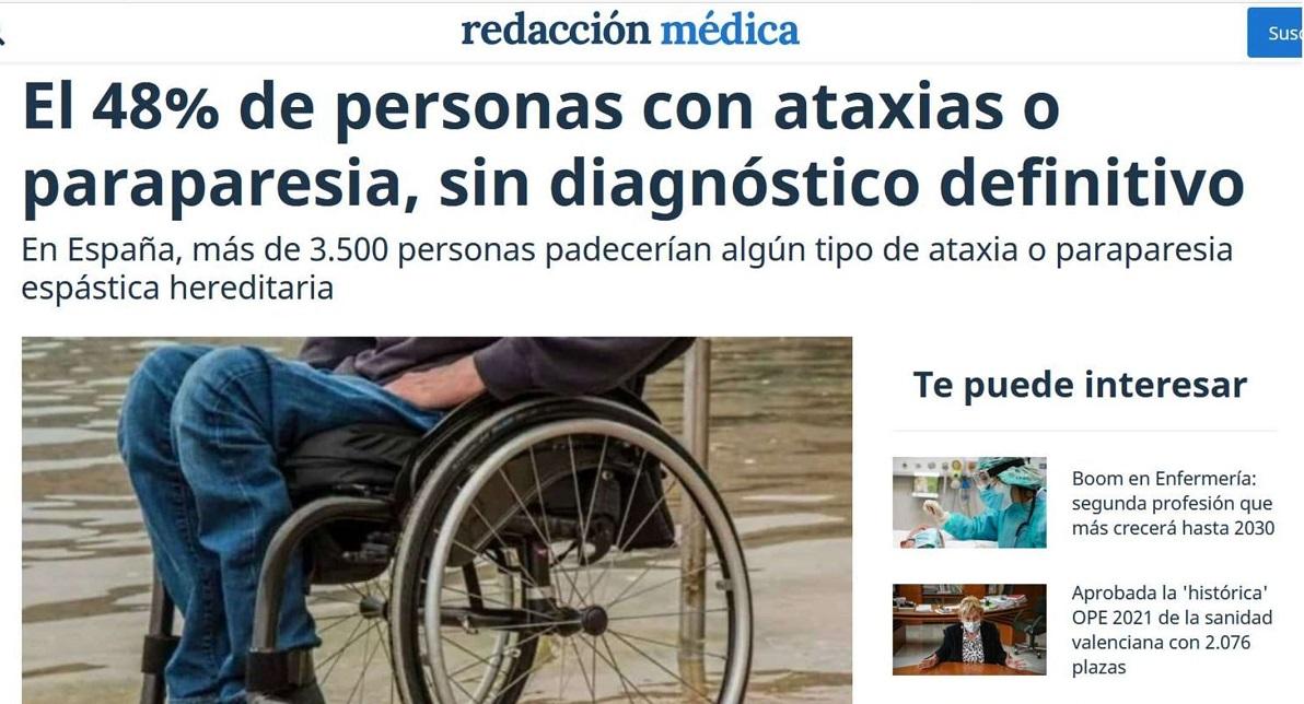 Redacción Médica Ataxia Dra. Carmen Serrano FHSJDM