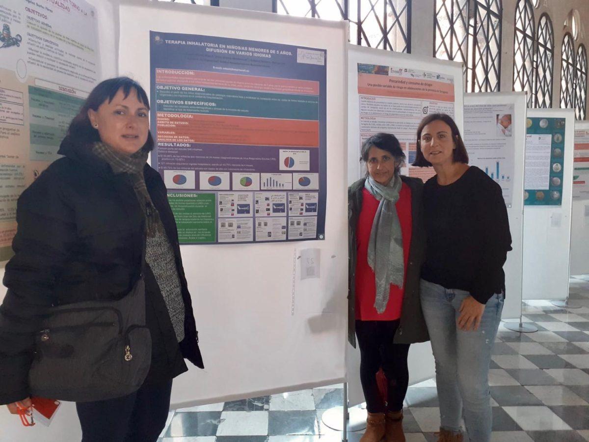 Equip infermeres FHSJDM XXIII Trobada Internacional Investigació en Cures