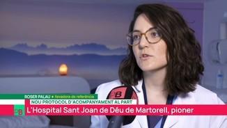 Roser Palau, llevadora de referència de la FHSJDM
