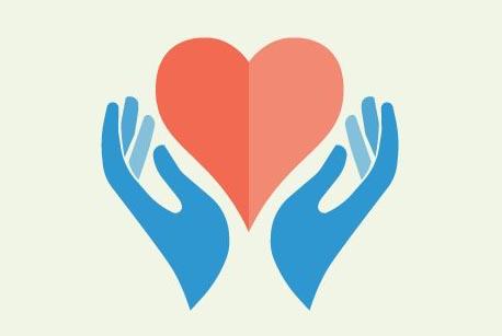 Il·lustració que simbolitza la donació d'òrgans