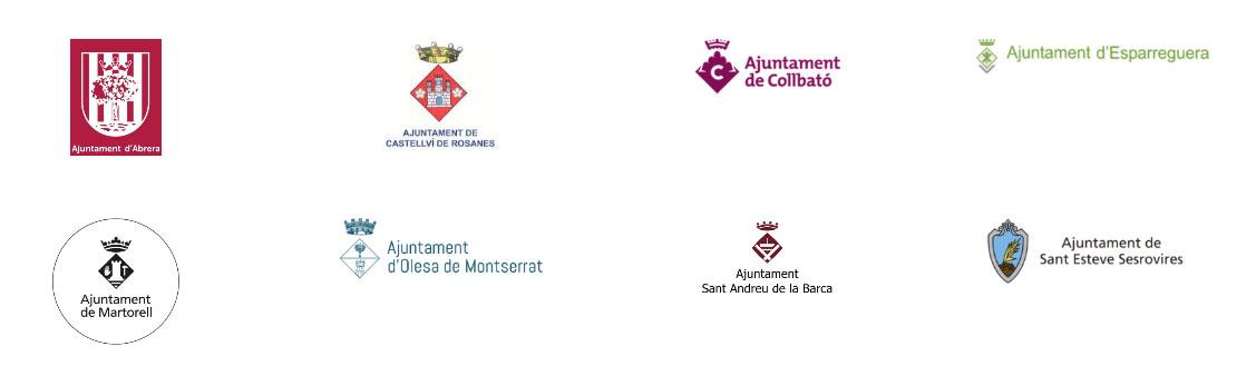 Logos Ajuntaments Baix Llobregat Nord